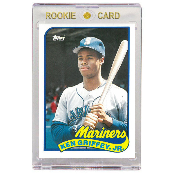 Ken Griffey Jr. Seattle Mariners 1989 Topps Traded # 41T Rookie Card