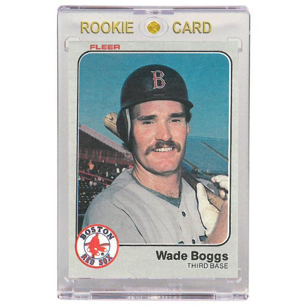Wade Boggs Boston Red Sox 1983 Fleer # 179 Rookie Card