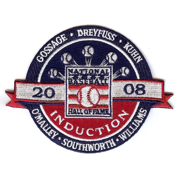 Baseball Hall of Fame 2008 Induction Patch