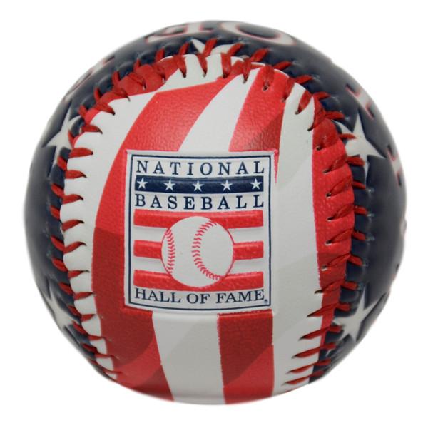 Baseball Hall of Fame Patriotic Baseball