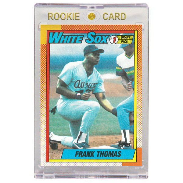 Frank Thomas Chicago White Sox 1990 Topps # 414 Rookie Card