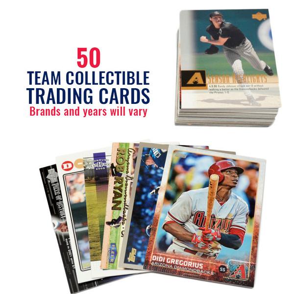 Arizona Diamondbacks 50 Card Team Baseball Card Lot