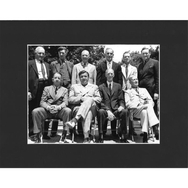 Matted 8x10 Photo- 1939 Induction Class Group