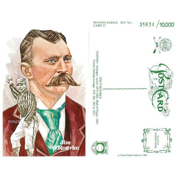 Perez-Steele Jim O'Rourke Limited Edition Postcard