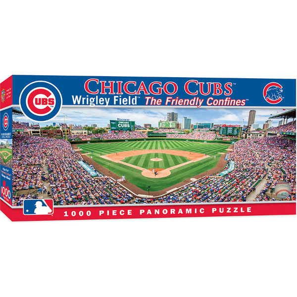 MasterPieces Chicago Cubs Wrigley Field 1000 Piece Panoramic Puzzle