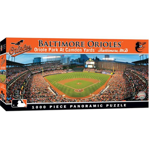 MasterPieces Baltimore Orioles Camden Yards 1000 Piece Panoramic Puzzle