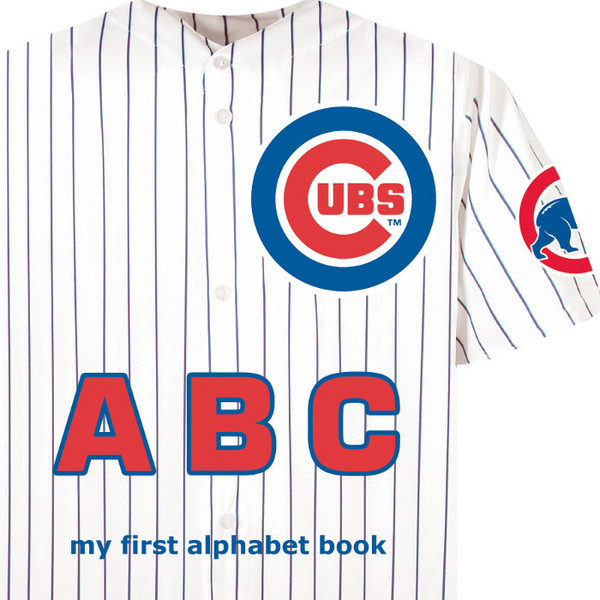 Chicago Cubs ABC Baby Board Book