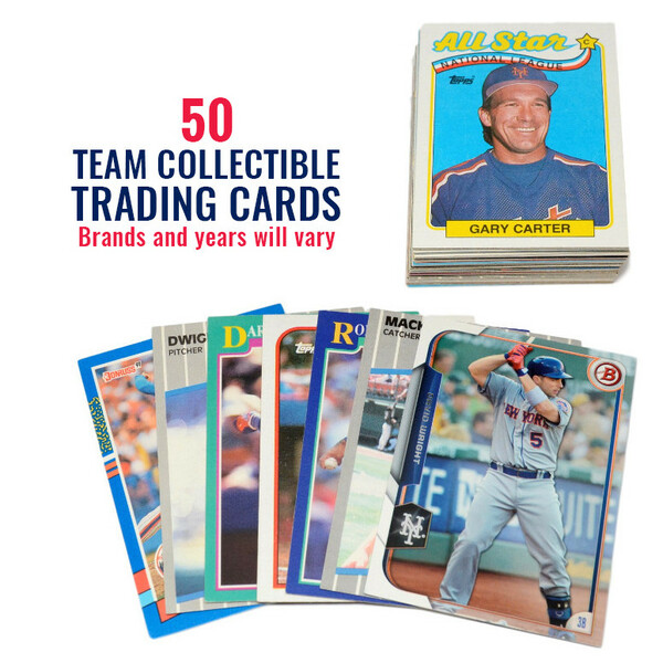 New York Mets 50 Card Team Baseball Card Lot
