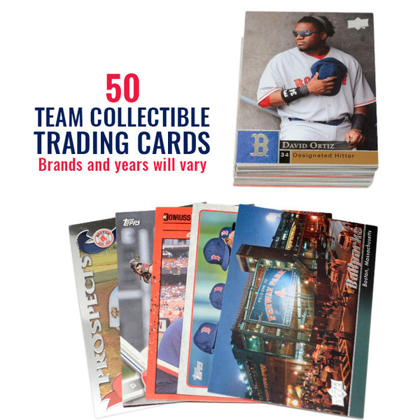 Boston Red Sox 50 Card Team Baseball Card Lot