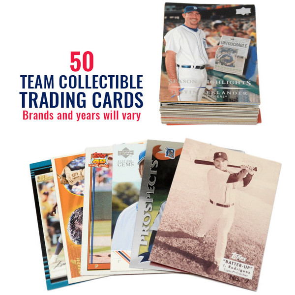 Detroit Tigers 50 Card Team Baseball Card Lot