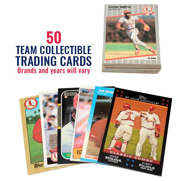 St. Louis Cardinals 50 Card Team Baseball Card Lot
