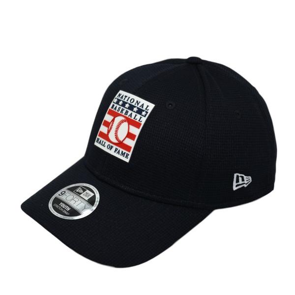 Youth New Era Baseball Hall of Fame Logo Navy 9FORTY Snapback Cap