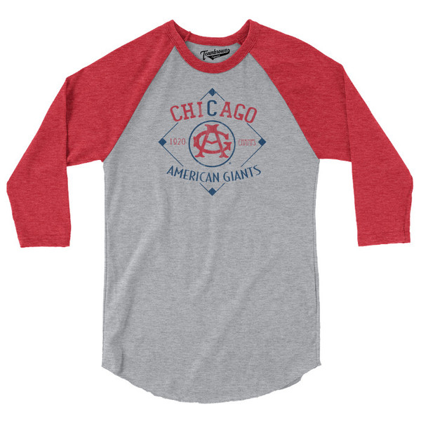 Unisex Teambrown Chicago American Giants Champions Collection Longsleeve Baseball Shirt