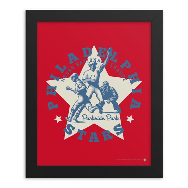 Teambrown Philadelphia Stars Artwork Framed 8 x 10 Print