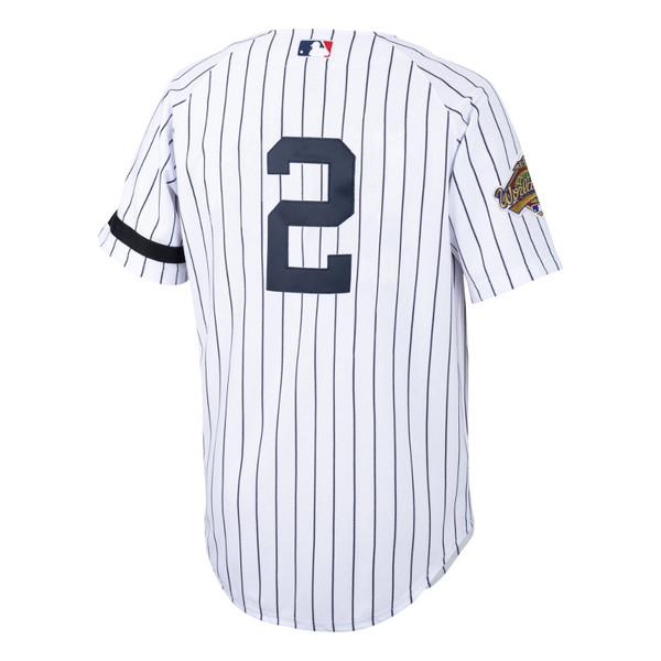 Men's Mitchell & Ness Derek Jeter New York Yankees Authentic 1996 World Series Home Jersey