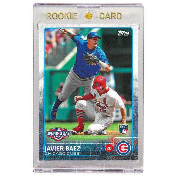 Javier Baez Chicago Cubs 2015 Topps Opening Day # 188 Rookie Card