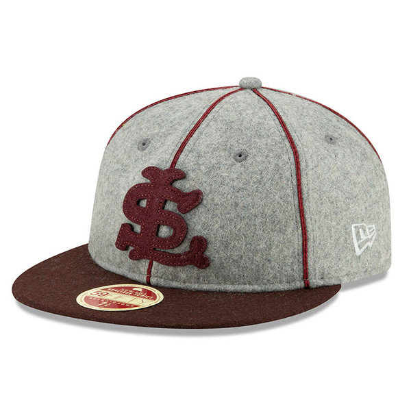 Men's New Era Heritage Series Authentic 1927 St. Louis Browns Retro-Crown 59FIFTY Cap