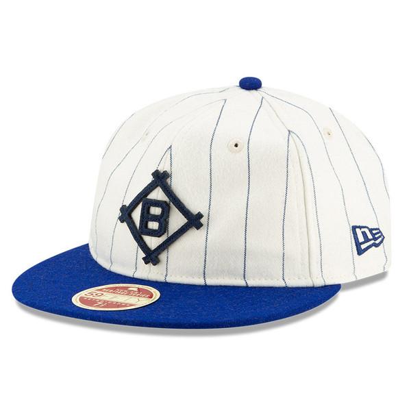 Men's New Era Heritage Series Authentic 1912 Brooklyn Dodgers Retro-Crown 59FIFTY Cap