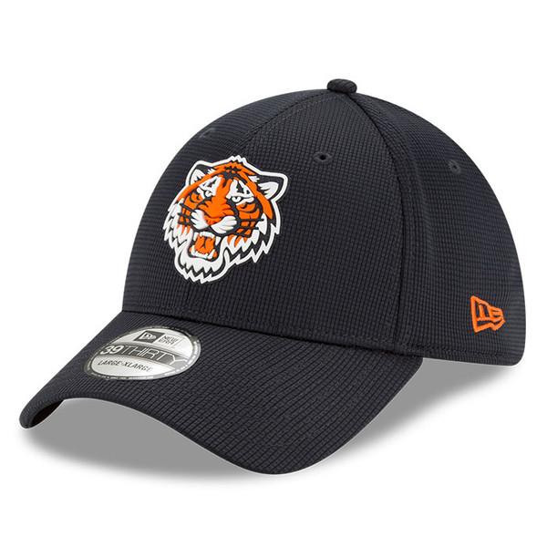 Men's New Era Detroit Tigers 39THIRTY Flex Fit Navy Clubhouse Cap