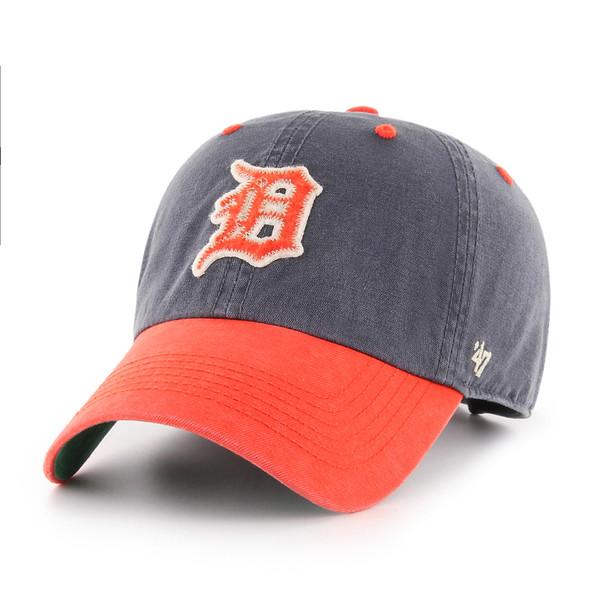 Men's '47 Brand Detroit Tigers Cooperstown Prewett Clean-Up Adjustable Cap