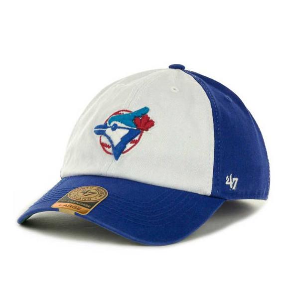 Men's '47 Brand Toronto Blue Jays Royal Franchise Cap with Hall of Fame Logo