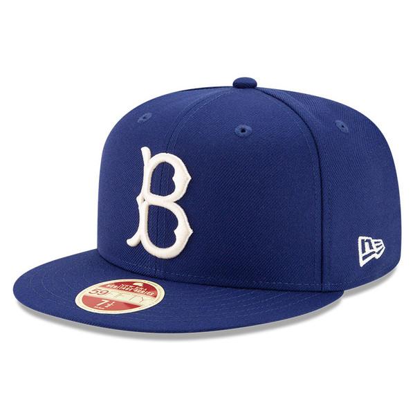 Men's New Era Heritage Series Established 1890 Brooklyn Dodgers Royal 59FIFTY Cap