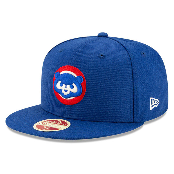 Men's New Era Heritage Series Established 1876 Chicago Cubs Dark Blue 59FIFTY Cap