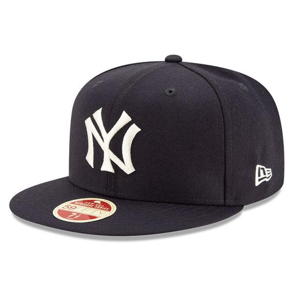 Men's New Era Heritage Series Established 1903 New York Yankees Navy 59FIFTY Cap