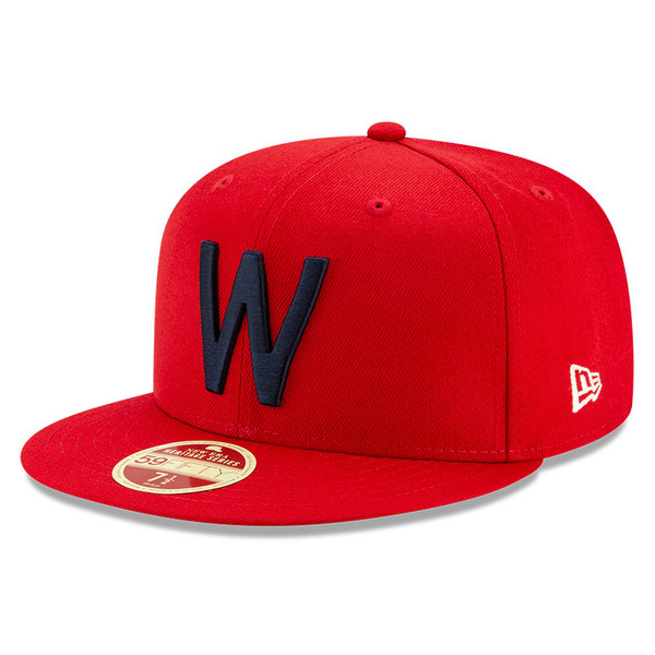 Men's New Era Heritage Series Established 1901 Washington Senators Red 59FIFTY Cap