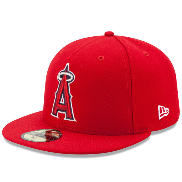 Youth New Era Los Angeles Angels 59FIFTY AC Fitted Cap