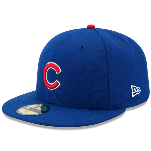 Youth New Era Chicago Cubs 59FIFTY AC Fitted Cap