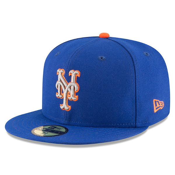 Youth New Era New York Mets 59FIFTY AC Fitted Cap