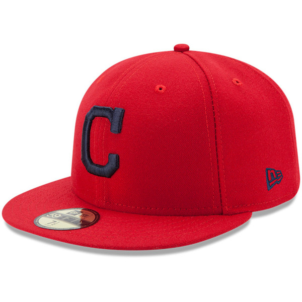 Youth New Era Cleveland Indians Alternate 59FIFTY AC Fitted Cap