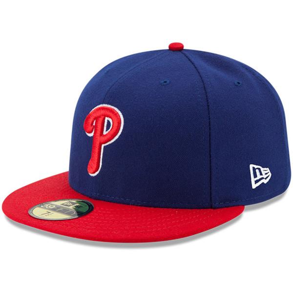 Youth New Era Philadelphia Phillies Alternate 59FIFTY AC Fitted Cap