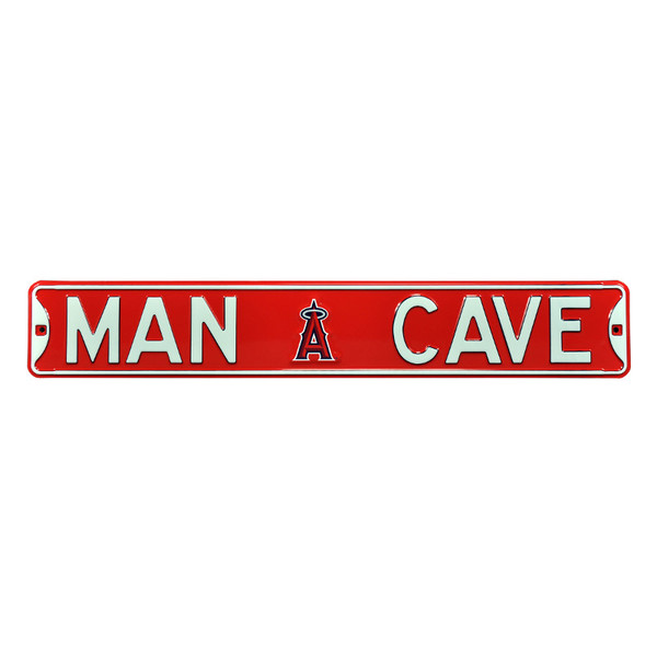 Los Angeles Angels Authentic Street Signs 6 x 36 Steel Man Cave Street Sign
