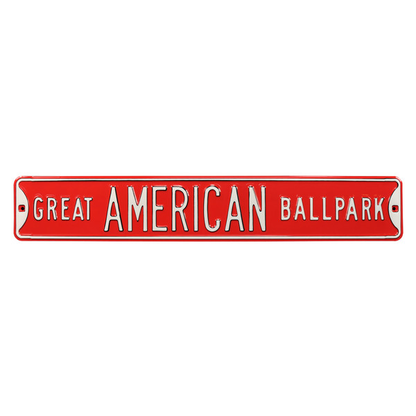 Great American Ballpark Authentic Street Signs 6 x 36 Steel Street Sign