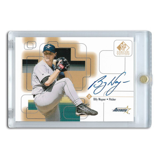 Billy Wagner Autographed Card 1999 SP Signature Series