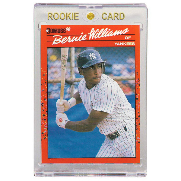 Bernie Williams New York Yankees 1990 Donruss # 689 Rookie Card