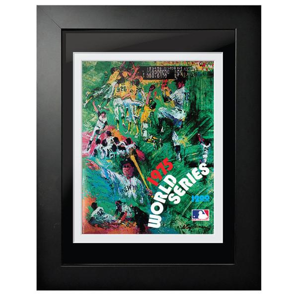 1975 World Series Program Cover 18 x 14 Framed Print