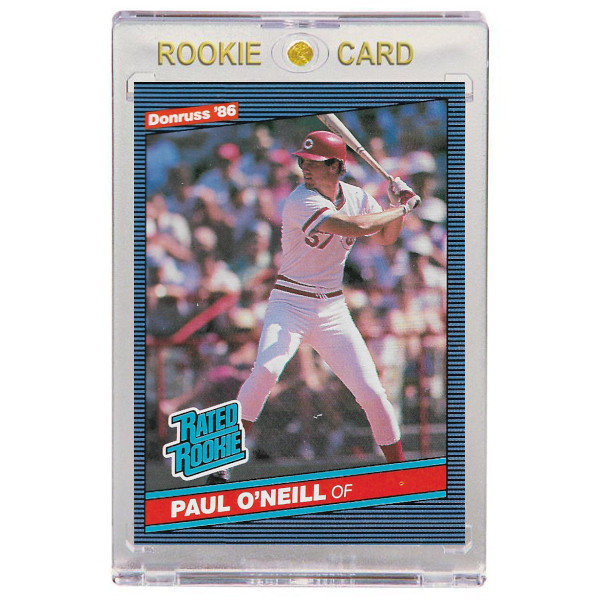Paul O'Neill Cincinnati Reds 1986 Donruss # 37 Rookie Card