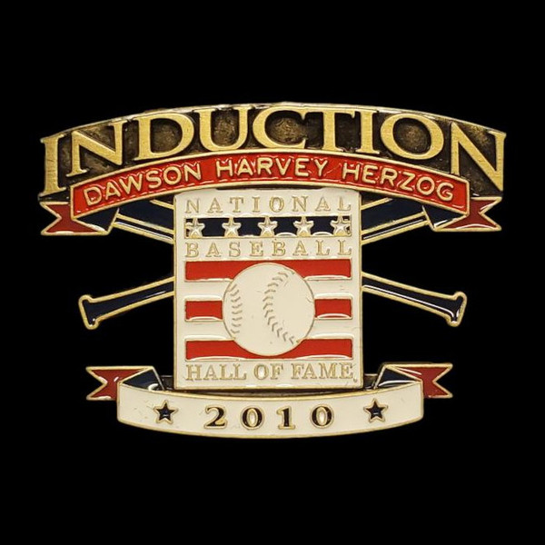 2010 Hall of Fame Induction Limited Edition Press Pin