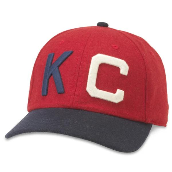 Men's American Needle Kansas City Monarchs Negro League Archive Legends Adjustable Cap