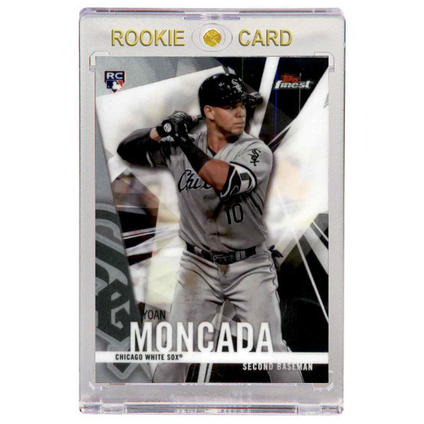 Yoan Moncada Chicago White Sox 2017 Topps Finest # 24 Rookie Card