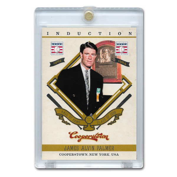 Jim Palmer 2012 Panini Cooperstown Induction Card # 10