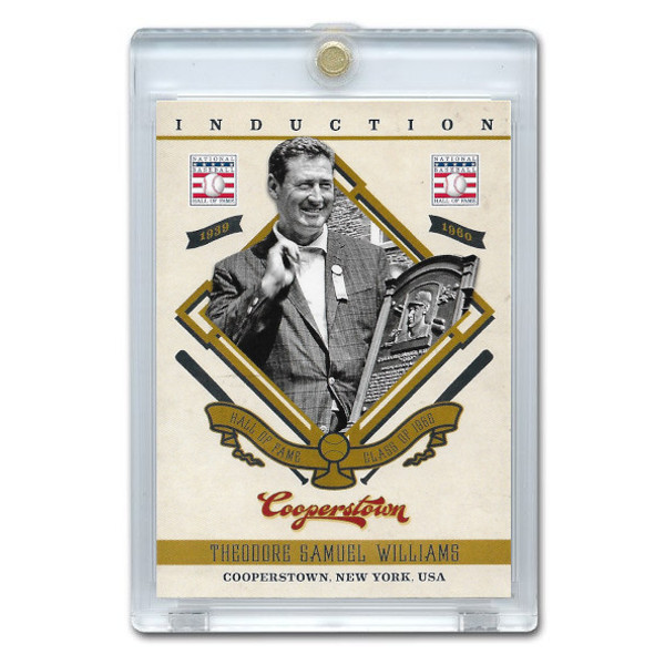Ted Williams 2012 Panini Cooperstown Induction Card # 6