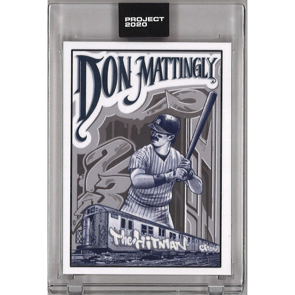 Don Mattingly Topps Project 2020 # 95 - Mister Cartoon