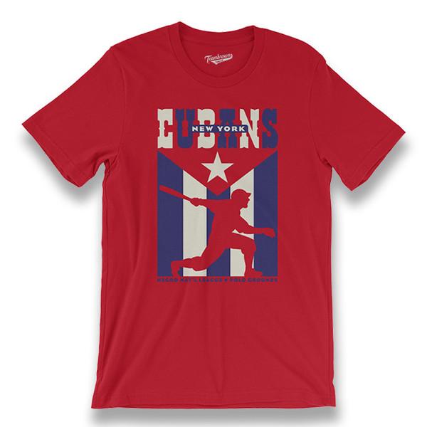 Men's Teambrown New York Cubans T-Shirt