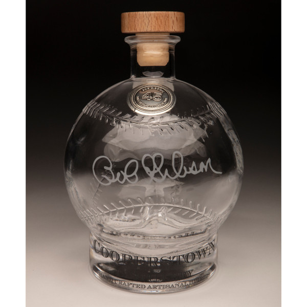 Bob Gibson Cooperstown Distillery Hall of Fame Signature Series Baseball Decanter