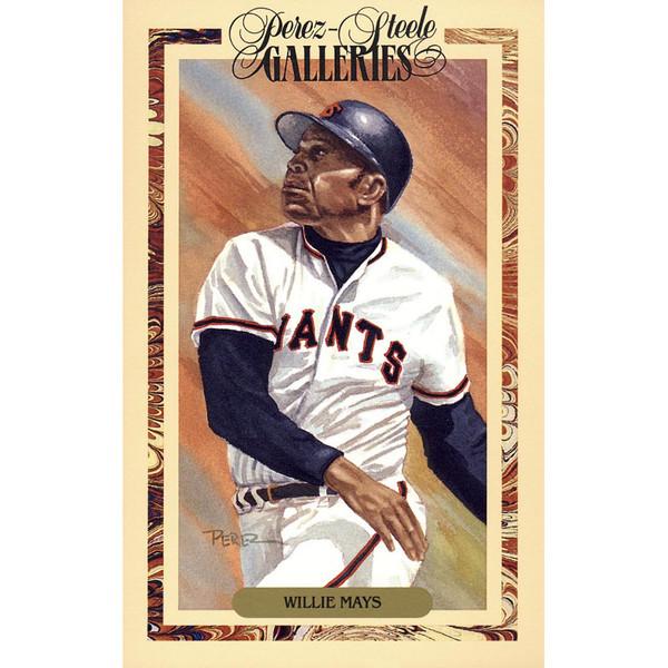 Willie Mays Perez-Steele Masterworks Limited Edition Postcard # 15
