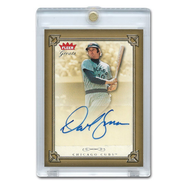 Dave Kingman Autographed Card 2004 Fleer Greats of the Game